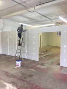 MW Studios drywall
