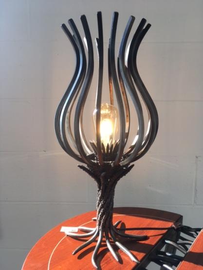 MW Studios tulip lamp