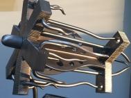 MW Studios Mark Woodham Burnsville NC metal sculpture Prototype