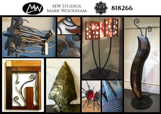 MW Studios ArtFields 2018 postcard